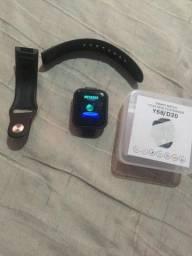Vende -se esse relógio smart watch top resistentea água pega tudo valor 100