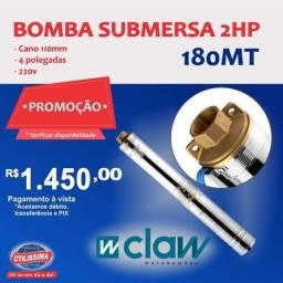 Bomba d?agua Submersa de (2,5) polegadas, 1/4HP , cano 75mm, joga ate 32 m de altura