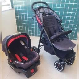 Graco Aire 4 xt Travel System com Bebê Conforto Snugride 35
