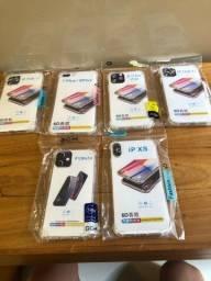 Capinhas transparentes anti-impacto para Iphone