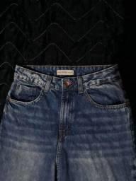 Calça mom jeans usada 2 vezes