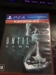 Título do anúncio: Jogo de PS4: Until Dawn