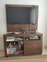 Raque e painel de TV