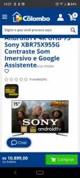 "Sony smart led 75"""