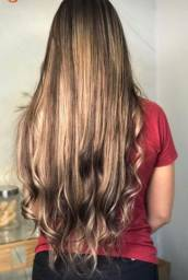 Vendo mega hair louro (morena iluminada)