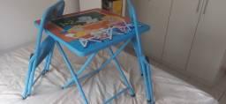 Título do anúncio: Mesa com 2 cadeiras infantil de ferro