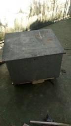 Baú de entrega feito de zinco, específico pra biz valor negociável