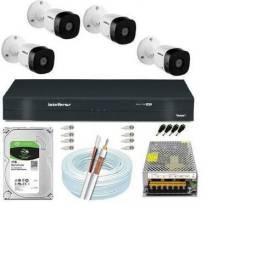 A Câmeras de segurança INTelBRAs.  Hutvv