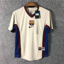 Camisa Barcelona retrô 98/99