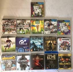 Jogos PS3 em excelente estado, alguns lacrados