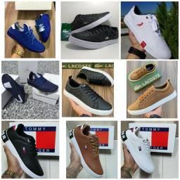 Vendo sapatênis Adidas H.U e sapatênis ( 120 com entrega)
