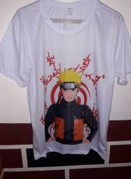 Camisa do Naruto Uzumaki T-M