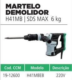 Título do anúncio: Rompedor Hitachi 6 kg 220v