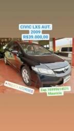 CIVIC 2009/2009 1.8 LXS 16V FLEX 4P AUTOMÁTICO