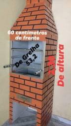 Churrasqueira 350,00 reais a vista para vir retirar no local