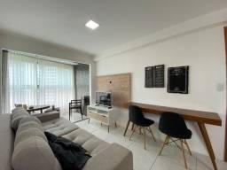 Lindo Apartamento Vista Mar 2 Quartos com Varanda 52m². Edf. Plaza Royale.