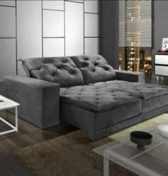 Oferta Imperdivel Sofa Retratil 2.90 M - Modelo Martins