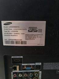 TV Samsung retirada de peças