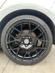 Título do anúncio: Pneus Pilot Sport 4 com rodas TSW Nurburgring aro 18