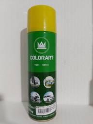 Tinta spray amarelo