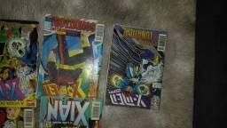 Coleção da revista Conan /rei/Wolverine/xman