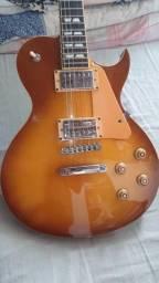 Guitarra les poul SX com case
