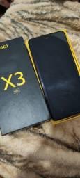 Título do anúncio: Poco X3 64GB ( problema no microfone)