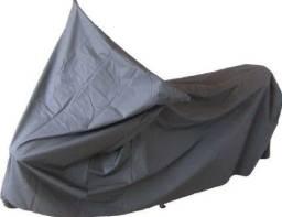 Capa para moto impermeável plástico resinado