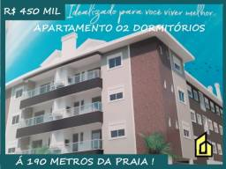 Título do anúncio: Ingleses* Apartamento com 02 Dormitórios na quadra da praia!