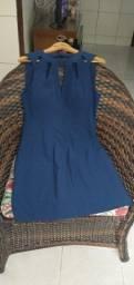 Vendo vestido azul