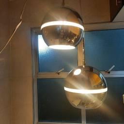Título do anúncio: Luminárias pendente em aço escovado