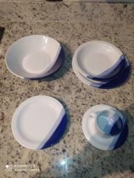 Jogos de pratos retro, COMPLETO
