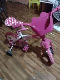 Título do anúncio: Caloi Barbie aro 12