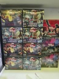 Título do anúncio: Box battle scenes card game Marvel