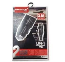 Carregador Veicular USB  H'Maston