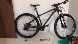 Bike SENSE EVO IMPACT RACE 17 ZERO - NF+MANUAIS+ACESSÓRIOS+PEDAL CLIPE