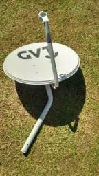 Baixei Antena KU 60cm Em Perfeito Estado Apenas R$ 30,00