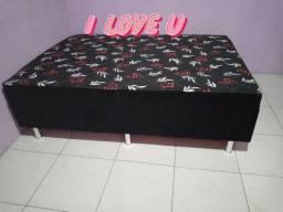 Promoção cama box casal tamanho padrão