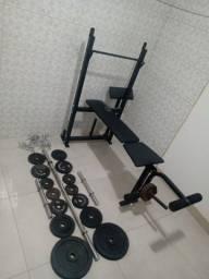 Título do anúncio: Kit musculação