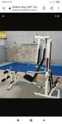 Estação de academia completa
