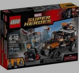 Título do anúncio: Lego Super Heroes Crossbones' Hazardheist 76050 Buil