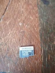 R$ 100 Cartão de 128GB