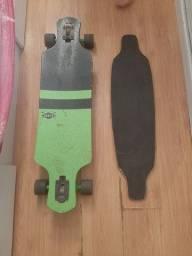 Skate long board e shape .