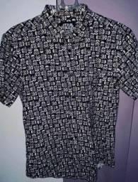 camisa de botão star wars stormtrooper