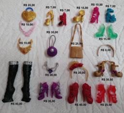 Roupas, calçados, acessórios de bonecas Ever After High