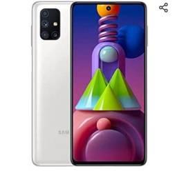 Título do anúncio: *Troco* Samsung m51 novo