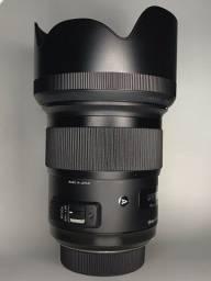 Título do anúncio: Lente Sigma 50mm F/1.4 Art Para Nikon