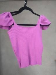Título do anúncio: Blusa lilás