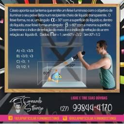 Título do anúncio: Aulas de reforço online de Matemática, Física e Química / Concursos Gerais