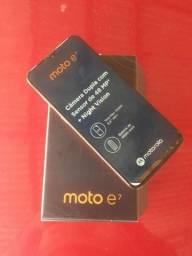 Moto E7 64GB novo completo